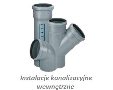 Instalacje kanalizacyjne wewnętrzne